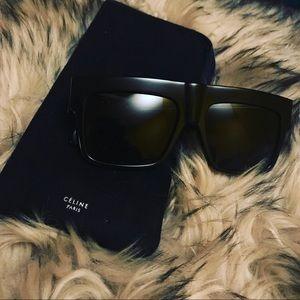 Celine Flat Top ZZ Sunglasses